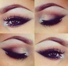 Earth tone makeup