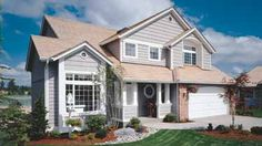 Home Plans HOMEPW01065 - 1,982 Square Feet, 4 Bedroom 2 Bathroom Cottage Home with 2 Garage Bays