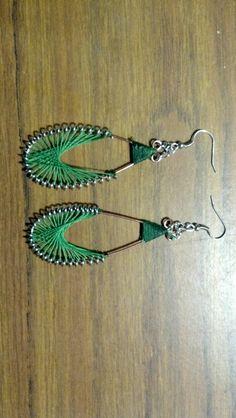 String earrings