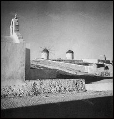 Old Time Photos, Old Pictures, Mykonos Island, Athens, Greece, Past, Traditional, Black And White, Lifestyle