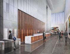 SOM / Freedom Tower Lobby