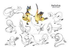 Commission Heliolisk by zacharybla