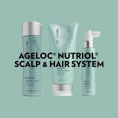 Meet our new Nutriol Hair range improved from our existing range with 2 new products to the range. Bigger and better. The first of it's kind Complete Anti-aging system for all hair types. Hair System, Hair Type, Anti Aging, Stress, Hair Beauty, Nutrition, Personal Care, Instagram Posts, Nu Skin