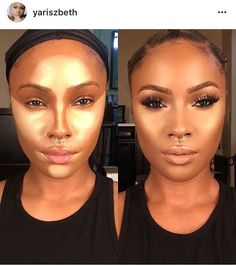 Black girl make up - transformation make up i like in 2019 beauty make Kiss Makeup, Love Makeup, Makeup Inspo, Makeup Inspiration, Perfect Makeup, All Things Beauty, Beauty Make Up, Makeup Goals, Makeup Tips
