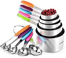 U-Taste 12 Piece Measuring Cups and Spoons Set in Stainless Steel : 7 Measuring Cups & 5 Measuring Spoons Pecan Pie Cobbler, Pie Crust From Scratch, Keto Mac And Cheese, Carrot Cake Cheesecake, Keto Cheesecake, Kodiak Cakes, How To Make Pie, Apple Dumplings, Baked Ham