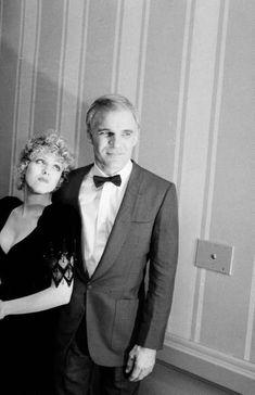 Steve Martin and Bernadette Peters, 1981
