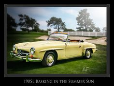 190SL, Basking in the Summer Sun by Royce Rumsey on 500px