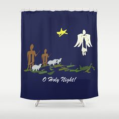 O Holy Night DP150903a Shower Curtain