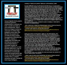 Aprenda Arte Marcial (Para leigos). E CONTRIBUA. C E - Ag: 0811 Co: 15091-7. VIVO DISSO. http://postsdejorgerodrigues.blogspot.com.br/2017/03/ensinamentos-e-frases.html