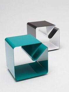 Mesas para café de acero inoxidable