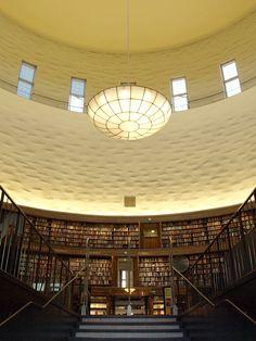 北欧フィーカ|スウェーデン・ストックホルムの旅|アスプルンドのストックホルム市立図書館。|Scandinavian fika.