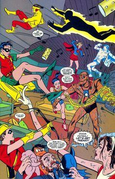 Doom Patrol & Teen Titans by Mike & Laura Allred