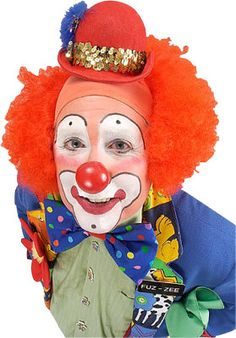 What's so funny about clowns? MC Hammer had a place to sell his pants when he went bankrupt, nothing brightens up a funeral like a clown, and more. Le Clown, Clown Faces, Circus Clown, Creepy Clown, Pierrot, Clown Makeup, Halloween Makeup, Types Of Clowns, Auguste Clown