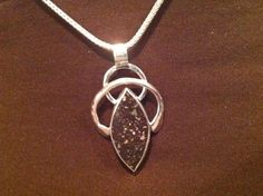 Sterling Silver Lucky Pendant by ParabolaStudio on Etsy