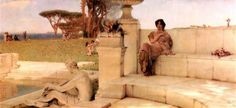 Sir Lawrence Alma-Tadema – A Voz da Primavera (The Voice of Spring) - 1910