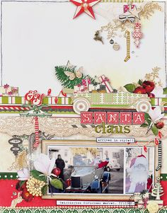 Santa Claus (arrived in style) *Webster's Pages Royal Christmas* - Websters Pages - Royal Christmas Collection