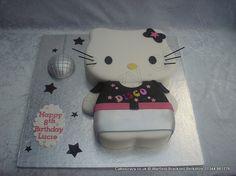 Inspiration for a Hello Kitty cake and cupcakes. Novelty Cakes Dubai. Sweet Secrets. www.sweetsecretsdubai.com