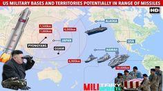 NORTH KOREA NUCLEAR ALERT: 'considering missile strike on US Guam base'