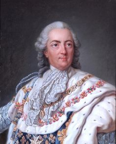 Loo, Louis Michel van - Louis XV - Baroque - Oil on canvas - Portrait - Bowes Museum - Barnard Castle, UK