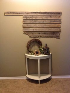 7 piece Wooden Oklahoma wall decor 5ft by 3ft