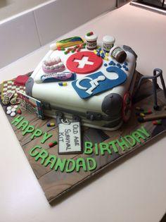Old Man Survival Kit Cake 2 My Cakes Pinterest