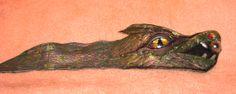 """заготовка браслет""""Дракон"""" материал:натуральная кожа. автор Надежда Майфат"""