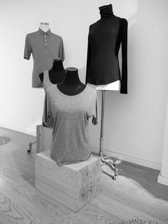 sneakpeak ~ our new merino cuts !! soon in store #funktionschnitt #wearthedifference #sneakpeak #merino #poloshirt #highneck #merinopolo #meninohighneck #merinoforhim #merinoforher #autumnwear #storedesign #creative