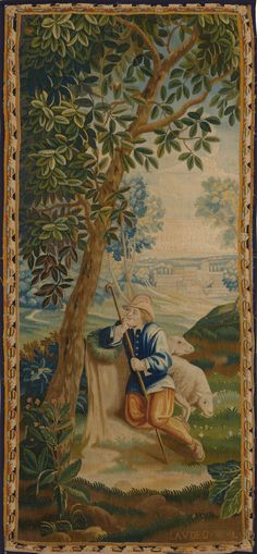 Matt Camron Rugs & Tapestries - Tapestries - Antique Tapestry - 15000HM