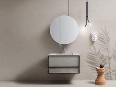Wall-mounted vanity unit with drawers DES 63 Des Collection By Cerasa design Stefano Spessotto Powder Room Vanity, Drawer Design, Wall Mounted Vanity, Modern Bathrooms, Vanity Units, Bath Vanities, Floating Nightstand, Drawers, The Unit