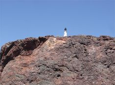 Check out the Portland Head Lighthouse replica on Lake Havasu, AZ. Original is in  Maine http://ourtravelingblog.com/2015/10/26/lake-havasu-lighthouse-replicas-part-3/