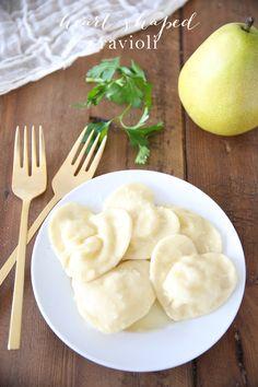 Valentine's Day recipe - easy heart shaped ravioli recipe