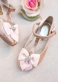 Designer childrens shoes by Joyfolie Gemma in Rosegold Shoes for girls in New Zealand | Return To Eden Children's Boutique