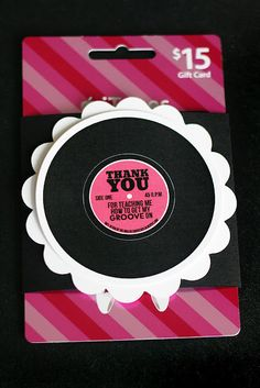 Dance Teacher Thank You. Dancing wouldn't be very much fun without music, right?  And most dance teachers could always use more songs to add to their playlists, right?  So, what would be better than an iTunes card to show your appreciation?  (besides chocolate)