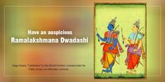 Tomorrow we observe Ramalakshmana Dwadashi believed to be an auspicious day to pray for children. Mythology claims that King Dasharatha observed this vrat in order to be blessed with children. Devotees, too, perform Shodashopcharya Puja on this day and pray to be blessed with children. #PurityOfPrayer