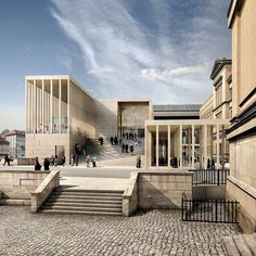Excited to hear that David Chipperfield Architects, one of my favorites, has been tapped to design the Southwest Wing for modern and contemporary art at New York's Metropolitan Museum of Art. His contemporary translation of classic forms and seamlessly contextual work is second to none. #geniusarchitect #met
