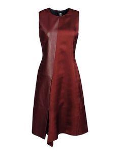 Burgundy Short dress Women's - #REEDKRAKOFF
