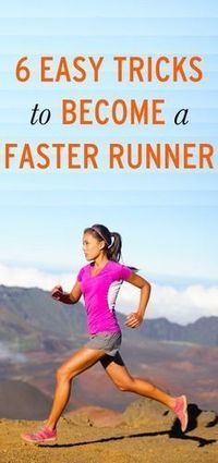 How to become a faster runner in these 6 easy tricks. Visit Walgreens.com for everything you need to help you get there.