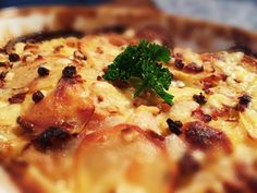 Kartoffelgratin mit Speck von cookingsociety.at Risotto, Macaroni And Cheese, Chicken, Meat, Ethnic Recipes, Food, New Recipes, Kochen, Food Food