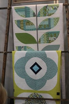 Quilts by Sew Kind of Wonderful. Quilt market November 2015, photo by the Bernina blog.
