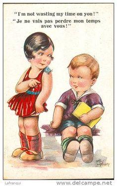 enfants humour - Delcampe.fr