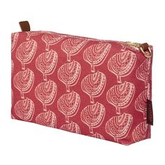 Apple Tree Wash Bag - Geranium Red from etoile-home.com