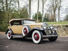 1931 Cadillac V-12 Phaeton  Maintenance/restoration of old/vintage vehicles: the material for new cogs/casters/gears/pads could be cast polyamide which I (Cast polyamide) can produce. My contact: tatjana.alic@windowslive.com