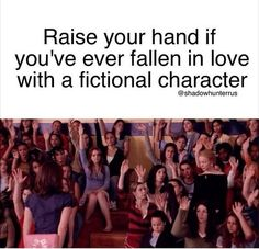 I raise my hand in this situation