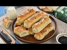 Reteta de placinte pufoase cu branza este ideala pentru momentele in care dorim sa pregatim ceva bun pentru micul dejun sau gustare. Hot Dog Buns, Hot Dogs, No Cook Desserts, Cake Recipes, Bread, Baking, Food, Pastries, Holiday Parties