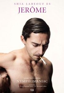 : Photo Shia LaBeouf and Jamie Bell go shirtless in these scandalous character posters for their upcoming Lars von Trier movie Nymphomaniac! Shia Labeouf, Jamie Bell, Christian Slater, Charlotte Gainsbourg, Lars Von Trier, Uma Thurman, New Poster, Poster Series, Film Movie