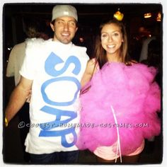 Easy and Cute Loofah and Bar of Soap Couple Costume ...This website is the Pinterest of birthday cakes