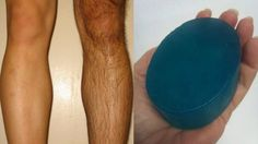 I Made this Hair Removal Soap At Home - Remove Facial Hair & Unwanted Hair Painlessly - YouTube