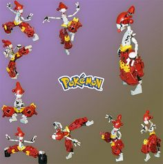 LEGO artist Mike Nieves has been creating Pokémon models for a few years now, but he seems to have outdone himself with this Gyrados. Using some unorthadox (at Pokemon Lego, Cool Pokemon, Pokemon Stuff, Nintendo, Lego Robot, Robots, Lego Minecraft, Lego Bionicle, Lego Design