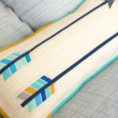 Arrow paper piecing pattern