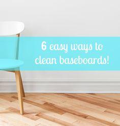 Weekend Wipe Down: 6 Easy (